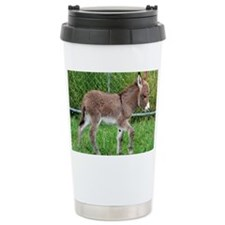 Miniature Donkey Foal Travel Mug