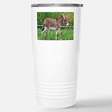Miniature Donkey Foal Travel Mug
