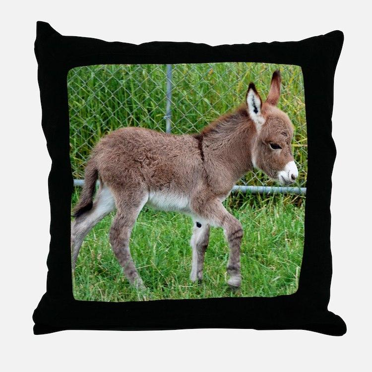 Miniature Donkey Pillows Miniature Donkey Throw Pillows Decorative Couch Pillows