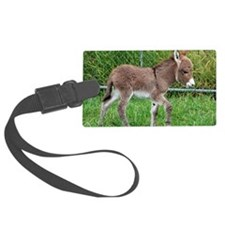 Miniature Donkey Foal Luggage Tag