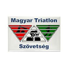 Magyar Triatlon Rectangle Magnet