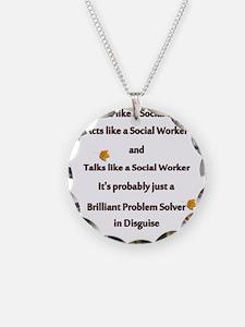 brilliant problem solver 2 Necklace