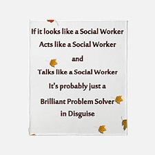 brilliant problem solver 2 Throw Blanket