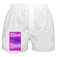 E.V.P.hot pink 5x8_journal Boxer Shorts