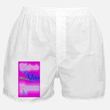 E.V.P.hot pink 5x8_journal Boxer Shorts