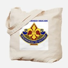 DUI-177TH  ARMORED BDE WITH TEXT Tote Bag