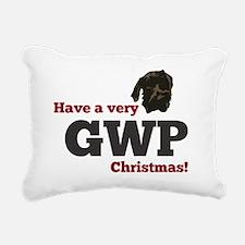 Baldwin Christmas Rectangular Canvas Pillow