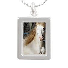 DSCF0233 Magnet Silver Portrait Necklace