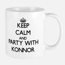 Keep Calm and Party with Konnor Mugs