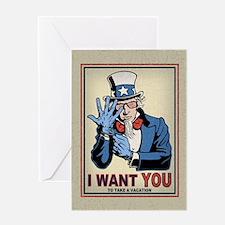 TSA-uncle-sam-LG-CRD Greeting Card