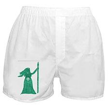 Green Goddess Boxer Shorts