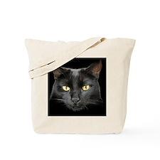 Dangerously Beautiful Black Cat Tote Bag