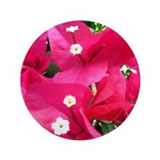 "Bougainvillea 3.5"" Button"
