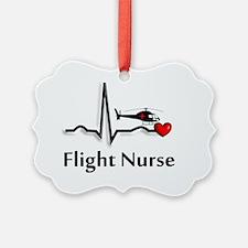 Flight Nurse QRS Ornament