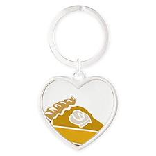 pie Heart Keychain