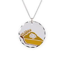 pie Necklace Circle Charm