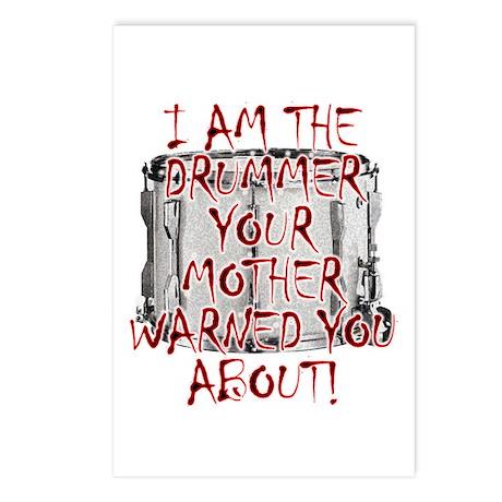 Drummer -- Your Mother Warned You Postcards (Packa
