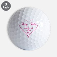 Fairy Tales - hot pink Golf Ball
