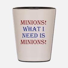 Minions_rnd1 Shot Glass