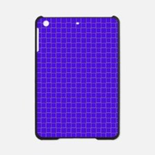 Blue Checkerboard Treasure 21 iPad Mini Case