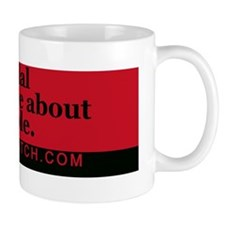 Bumper-SmartPeople-Red Mug