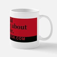 Bumper-SmartPeople-Red Mug