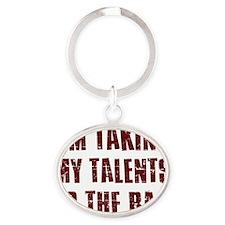 talents1 Oval Keychain