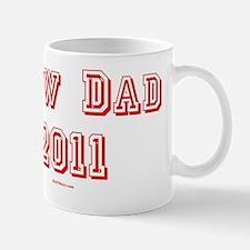 New Dad 2011 2 flat Mug