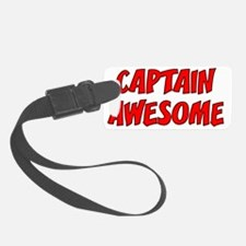 CAPTAINAWESOME Luggage Tag