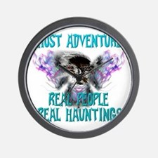 Ghost Adventures Whitewings T-Shirt Wall Clock