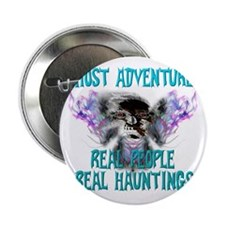 """Ghost Adventures Whitewings T-Shirt 2.25"""" Button"""