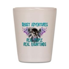 Ghost Adventures Whitewings T-Shirt Shot Glass