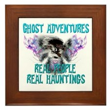 Ghost Adventures Whitewings T-Shirt Framed Tile