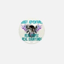 Ghost Adventures Whitewings T-Shirt Mini Button