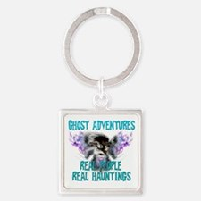 Ghost Adventures Whitewings T-Shir Square Keychain
