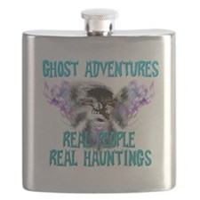 Ghost Adventures Whitewings T-Shirt Flask