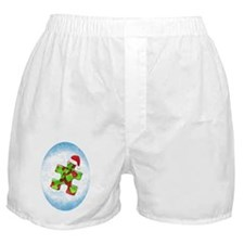 autism_ornament_oval1rg Boxer Shorts