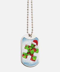 autism-xmas-card1rg Dog Tags