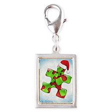 autism-xmas-card1rg Silver Portrait Charm