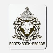 roots rock reggae qr2 Mousepad