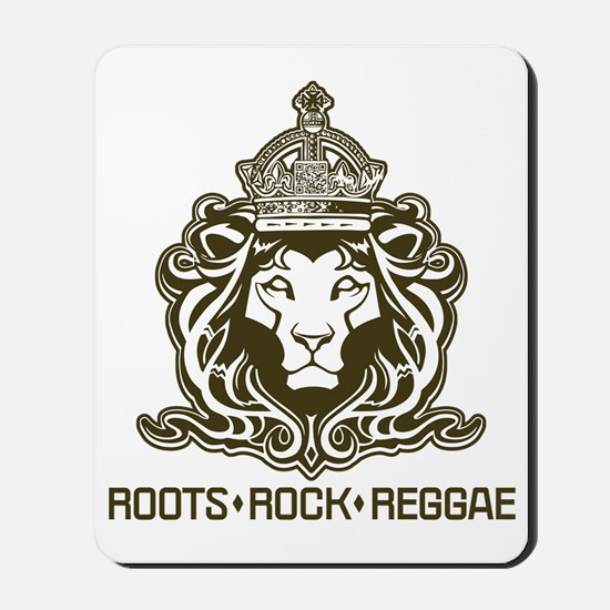 roots rock reggae qr2 Mousepad
