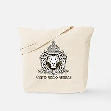 roots rock reggae qr2 Tote Bag