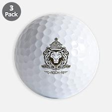 roots rock reggae qr2 Golf Ball
