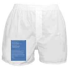 2011_CalBack Boxer Shorts