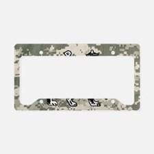 steelo patch License Plate Holder