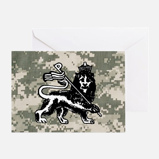 steelo patch Greeting Card
