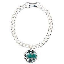 Fight Like A Girl Ovaria Charm Bracelet, One Charm