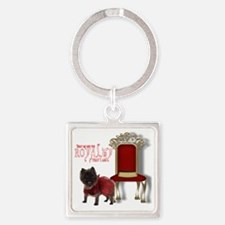 royalty Square Keychain