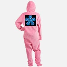 patterned flower png 3 Footed Pajamas