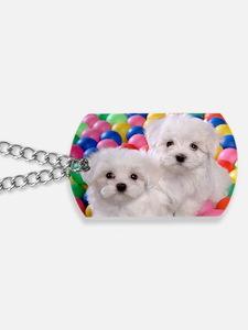 bishonFB travel Dog Tags